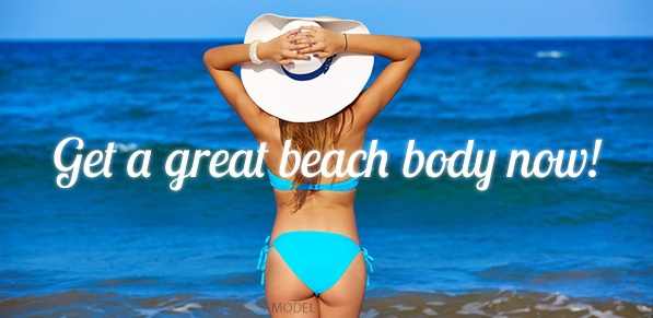 Fat transfer can help you achieve a beach body faster