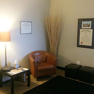 Patient Waiting Area at GLOW Surgical Arts